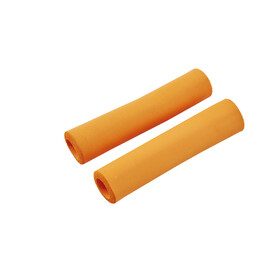 Red Cycling Products Silicon Grip Bike Grips orange